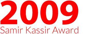 Prix Samir Kassir 2009