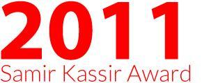 Prix Samir Kassir 2011