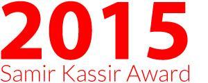 Prix Samir Kassir 2015